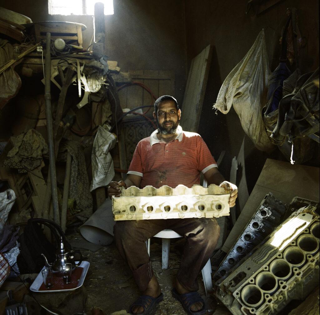 Abdelkhader 'dragon' Hmidouch (photo Keetja Allard)