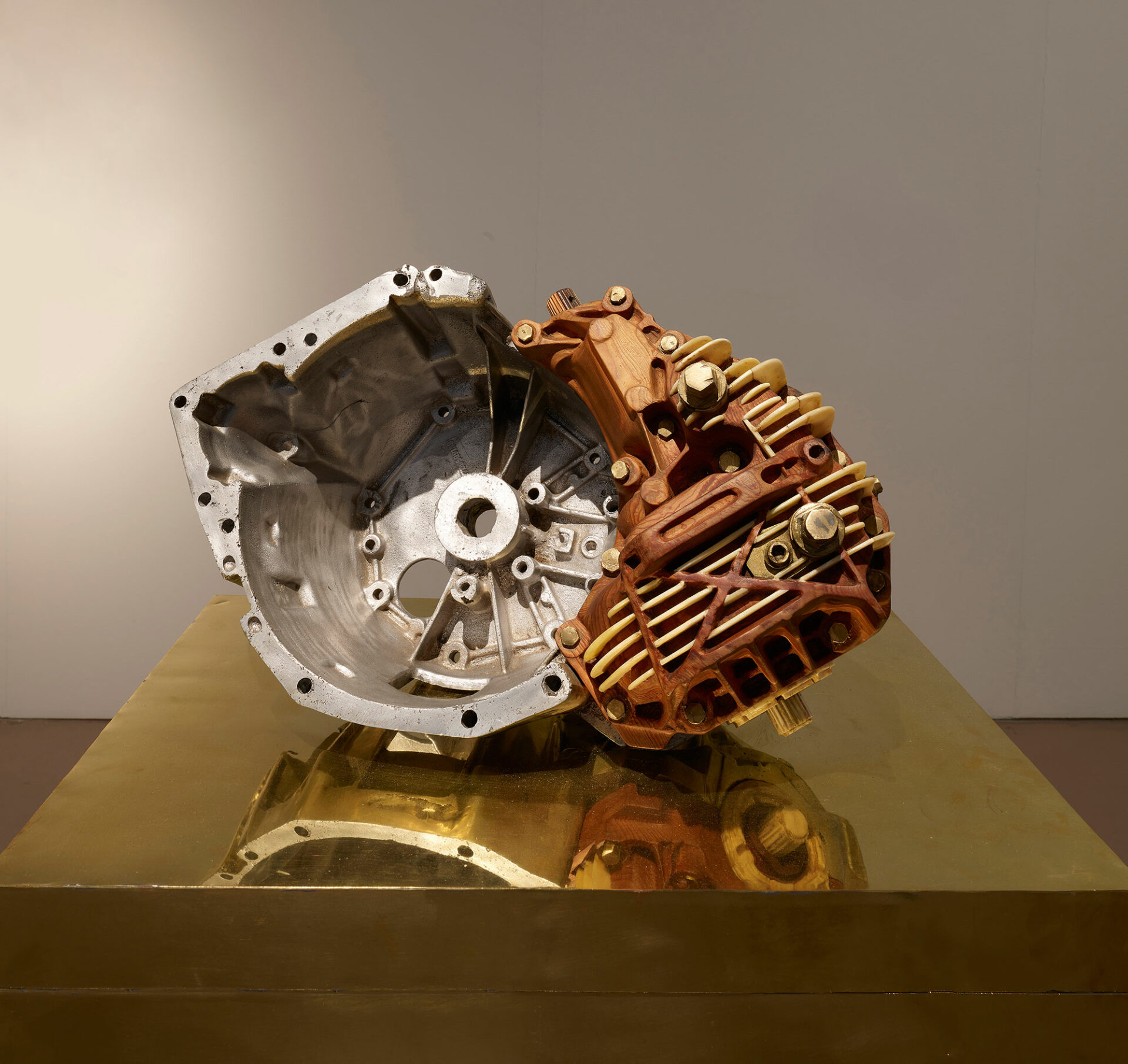 Untitled (Renault Trafic gearbox)_Eric van Hove_2015_on inner copper box_low resolution